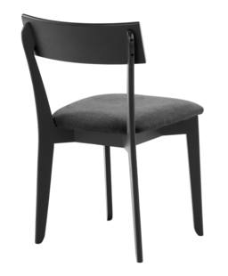 856 dining chair, ash black, textile black 4