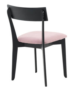 856 dining chair, ash black, textile virgin purple (4)