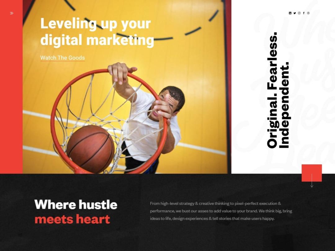 agency-website-homepage-design-nilead-top-banner