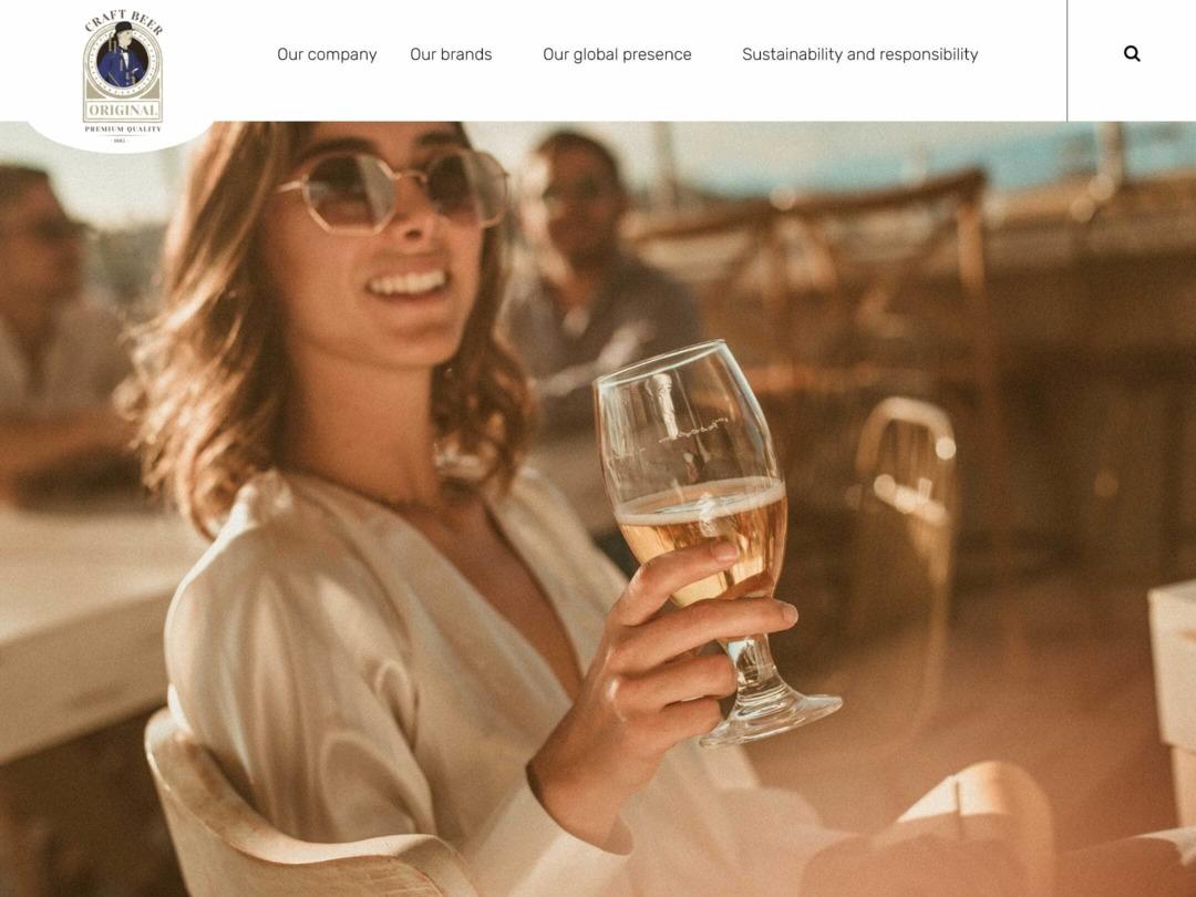 breweries website design