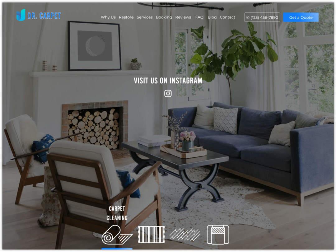 carpet-cleaners-website-homepage-design-nilead-top-banner
