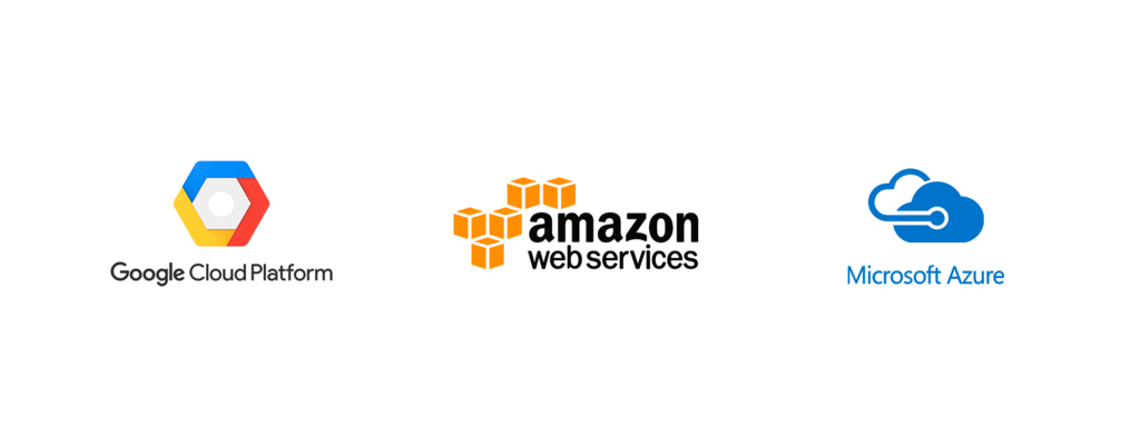 Google Cloud Platform - Amazon Web Services - Microsoft Azure