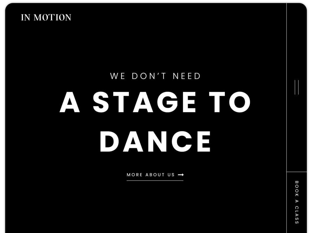 dance-studio-website-homepage-design-nilead-top-banner