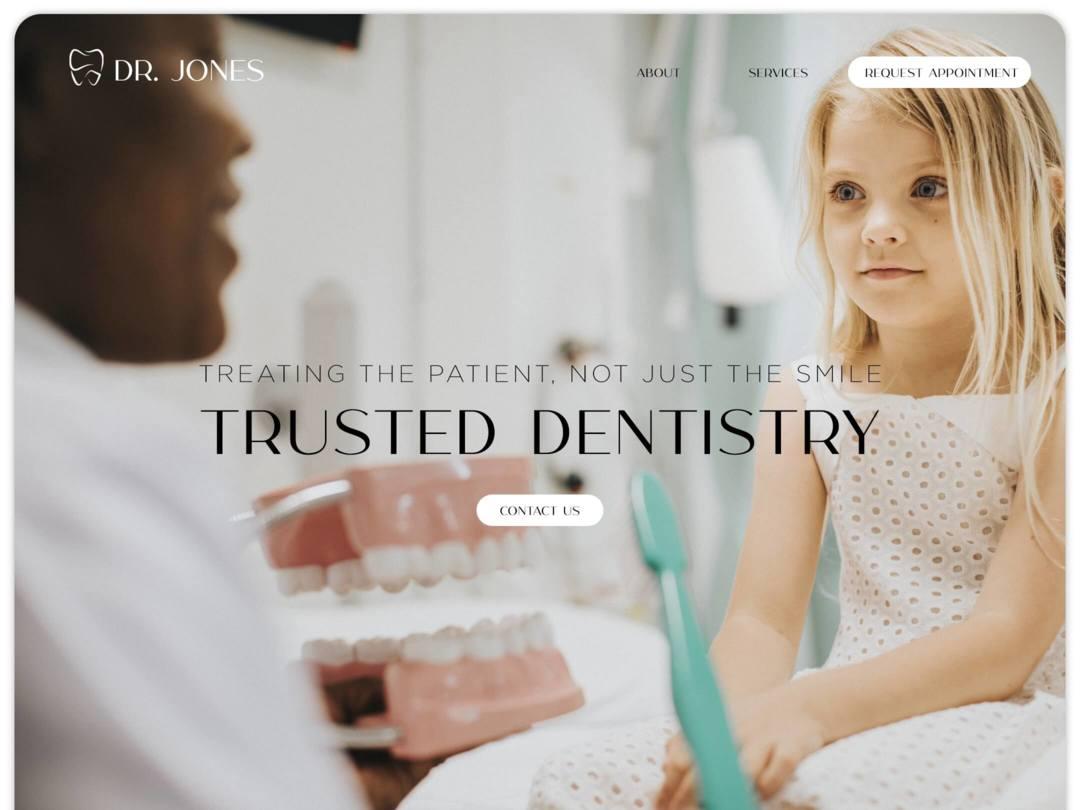 dentists-website-homepage-design-nilead-top-banner
