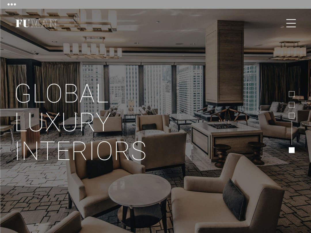 furniture manufacturer website design