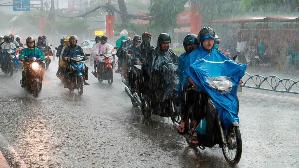 Ho Chi Minh City rainy season