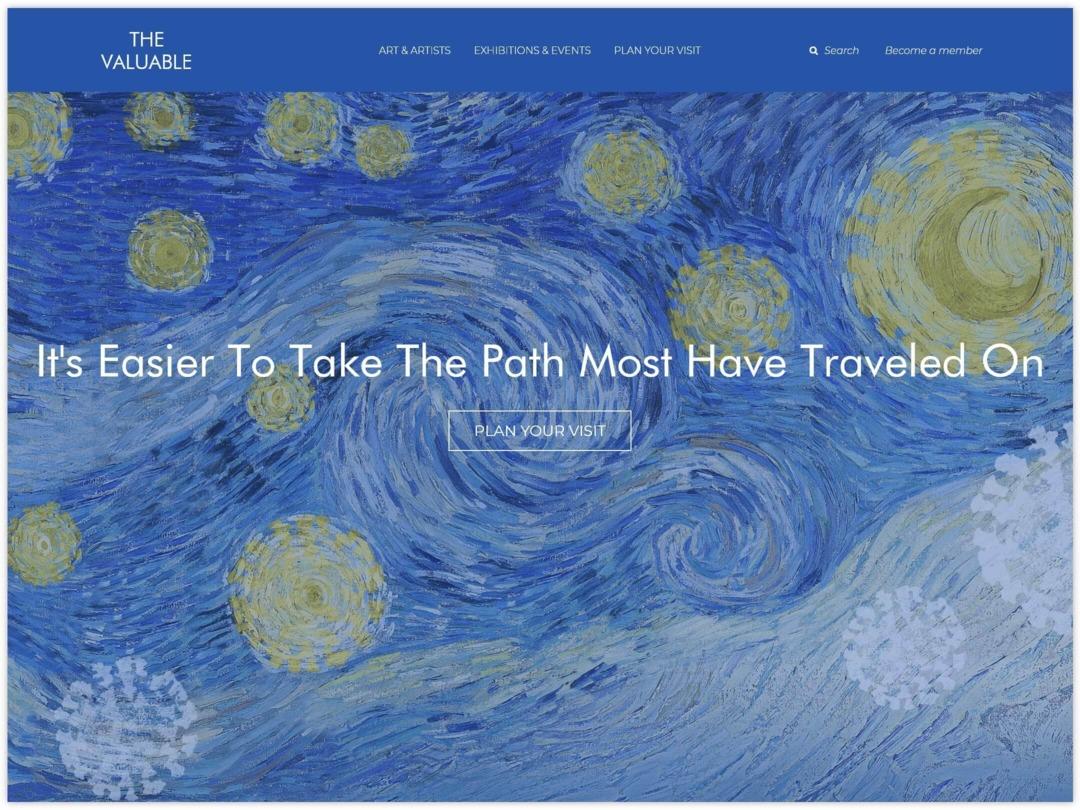 museum-website-design-banner