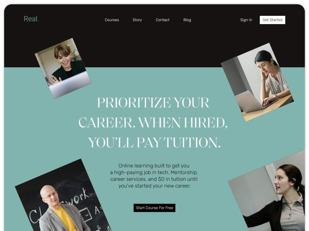 online-education-website-homepage-design-nilead-top-banner