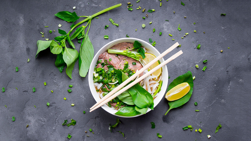 Pho - noddle soup with beef