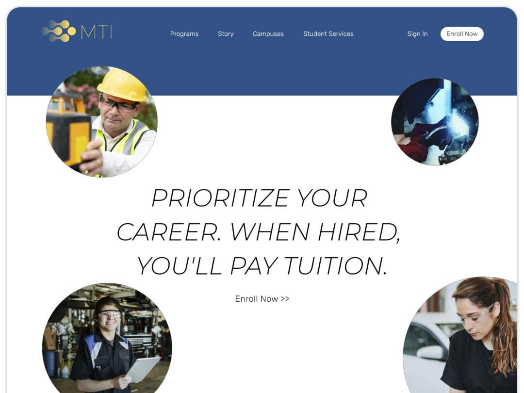 technical-school-website-homepage-design-nilead-top-banner