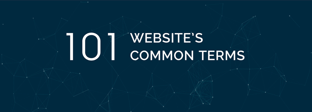 Website 101 - Website's common terms