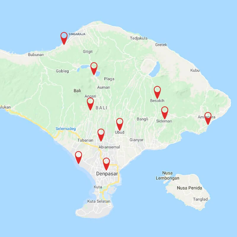 Best of Bali: Candidasa, Ubud and Lovina
