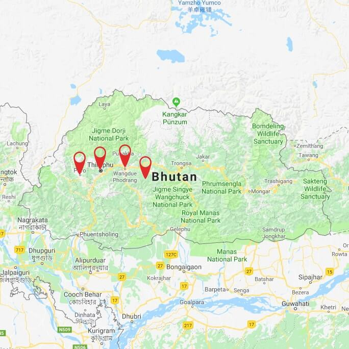 Bhutan - Land of Thunder Dragon