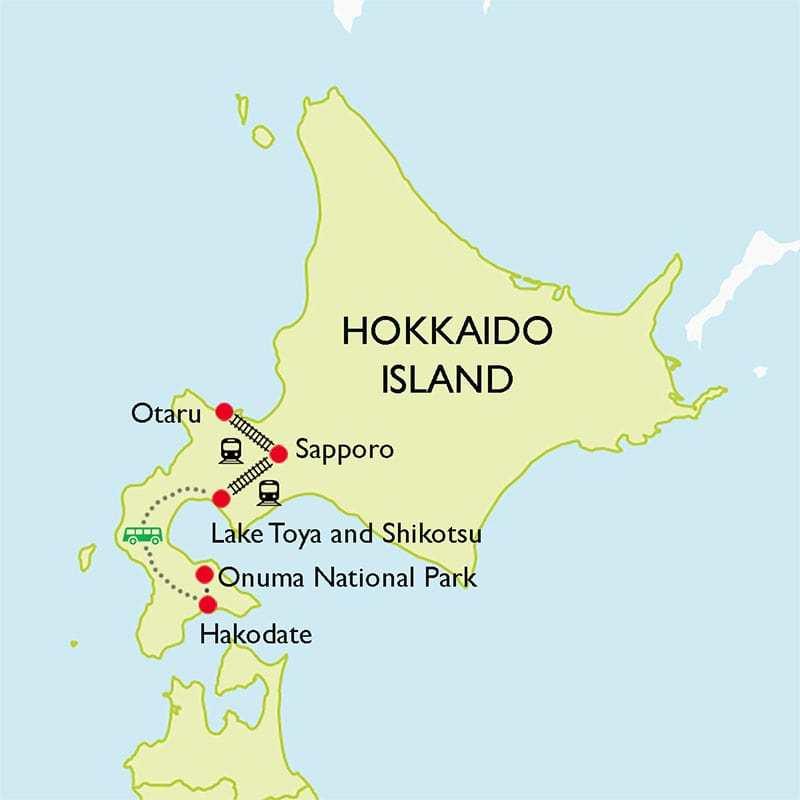 Explore Hokkaido: Hakodate & Sapporo