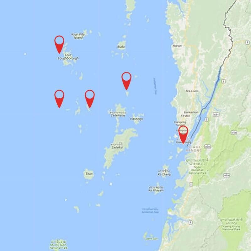 Explore Mergui (Myeik) Archipelago