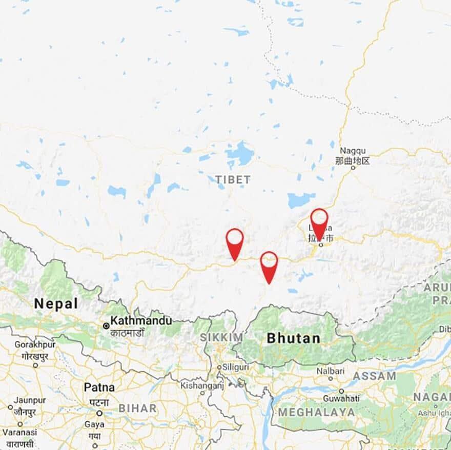 Express Tibet Tour: Lhasa, Gyantse, Shigatse