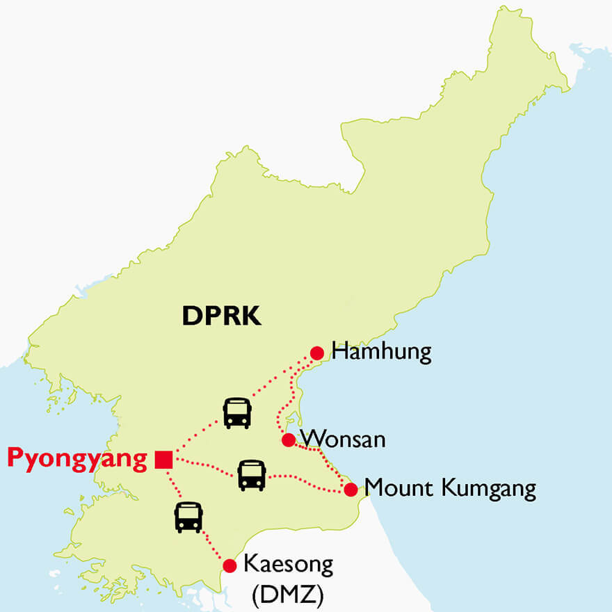 Family Tour to DPRK - OCT