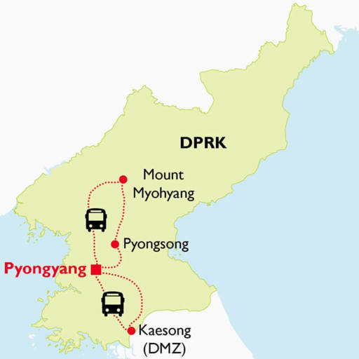 highlights-of-dprk-tour-map