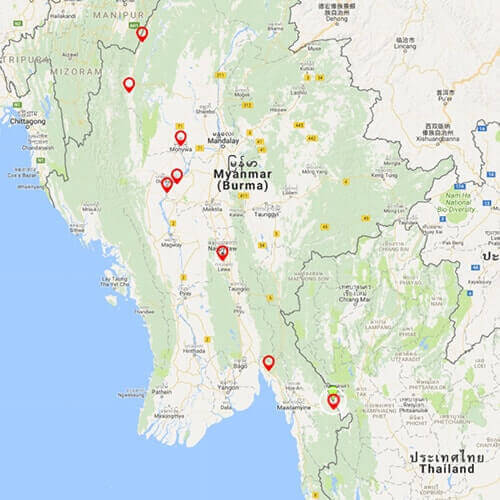 myanmar-self-drive-tour-india-myanmar-thailand-border-map