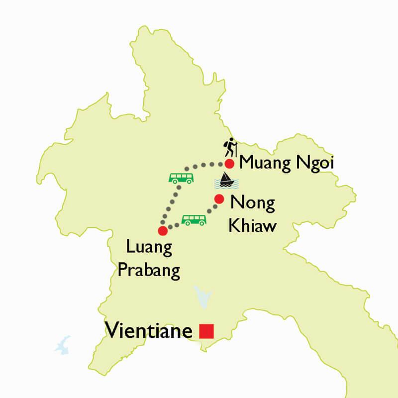 Responsible Travel in Laos: Muang Ngoi Culture Trek