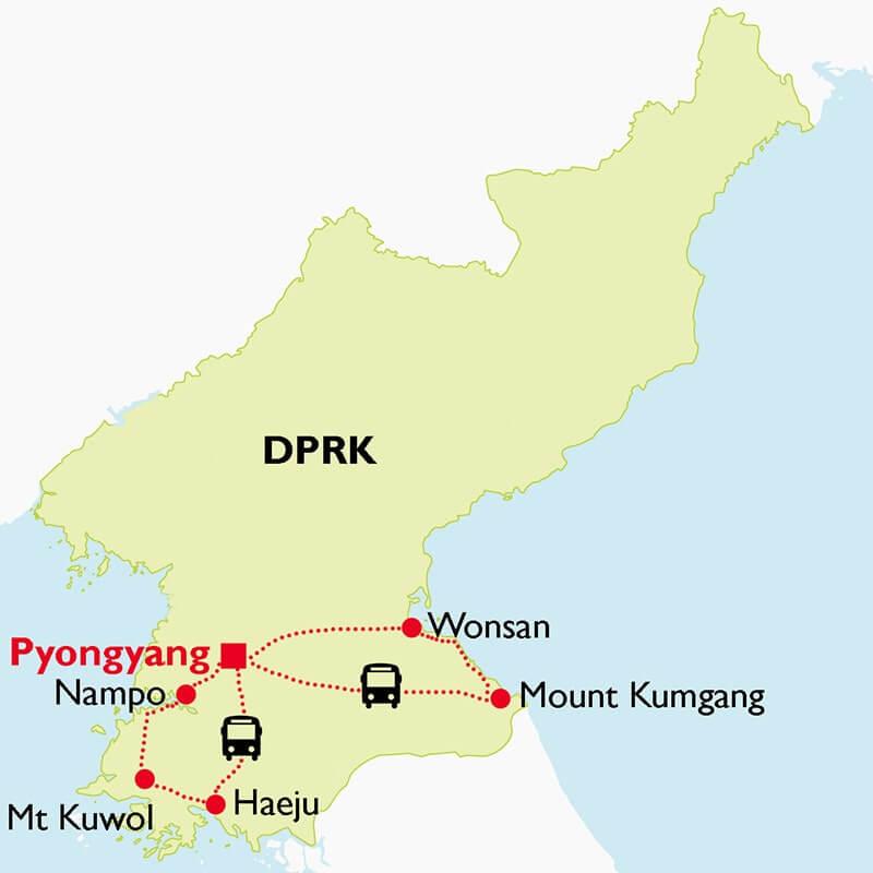 Unseen DPRK Short Tour