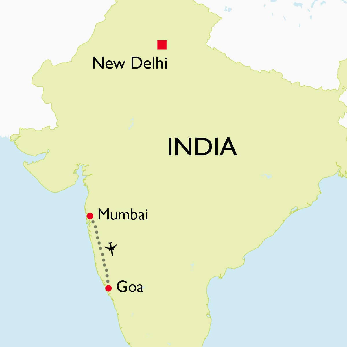 West Coast Of India: Mumbai & Goa