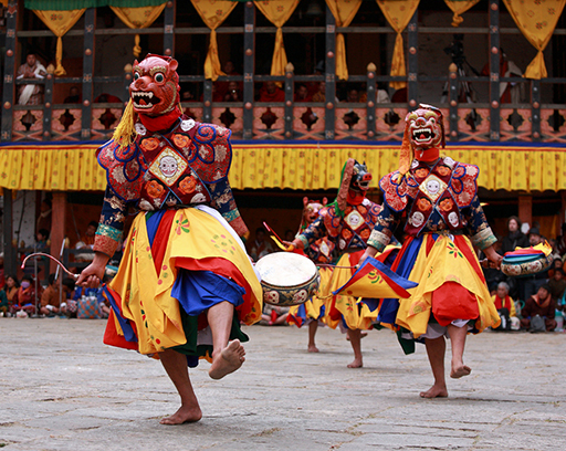 When is the best time to visit Bhutan - March