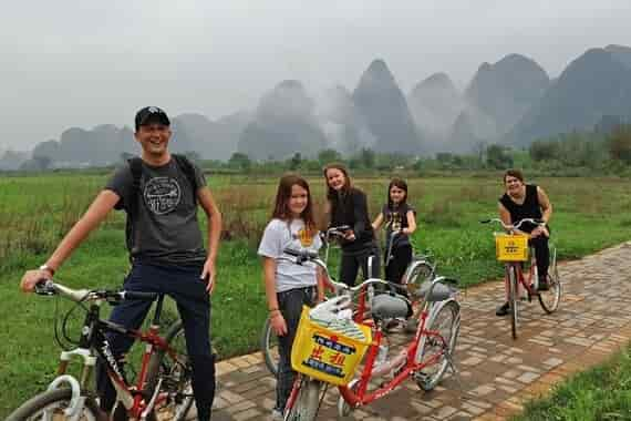 Cycle Yangshuo Countryside