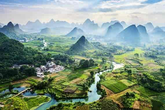 Family Trip in Yangshuo